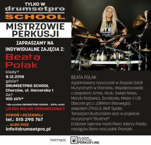 Mistrzowie Perkusji - Beata Polak